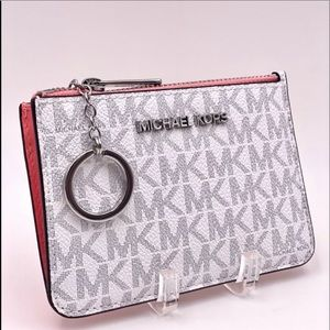 Michael Kors Small Coin Pouch Wallet Card Case